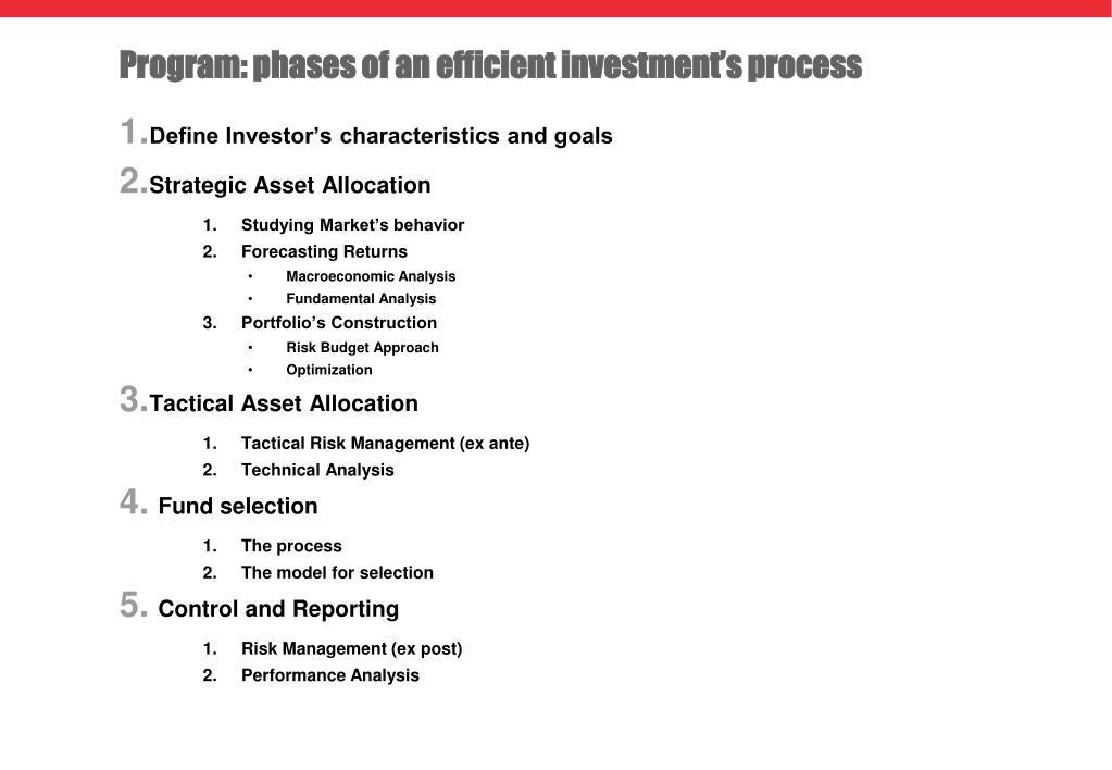 PPT - Pavia  October – December 2014 Asset and Portfolio
