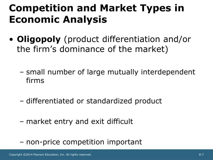economics and competitive firm Firms are price-takers in the competitive market if • identical products (homogeneous product): consumers can substitute among them perfectly.