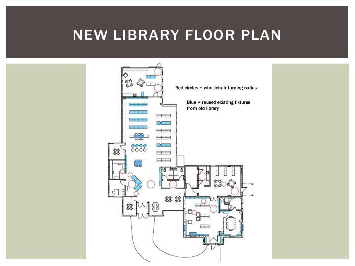 NEW LIBRARY FLOOR PLAN