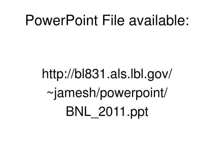 powerpoint file available n.