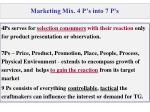 marketing mix 4 p s into 7 p s