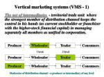 vertical marketing systems vms 1