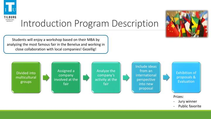 Introduction Program Description