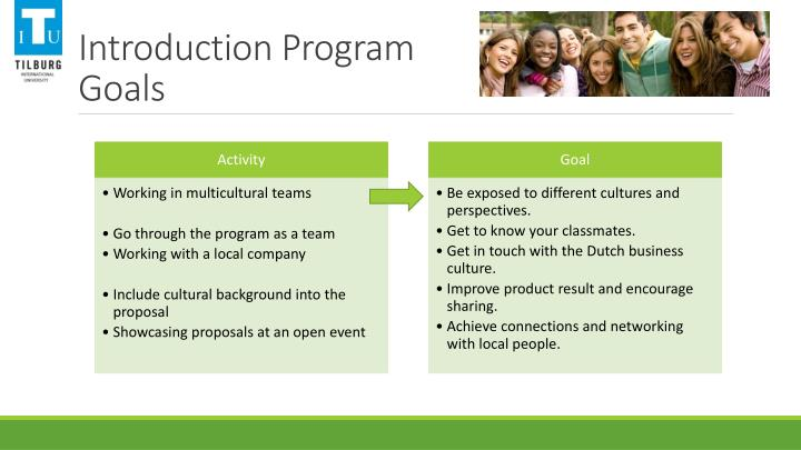 Introduction Program