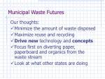 municipal waste futures1