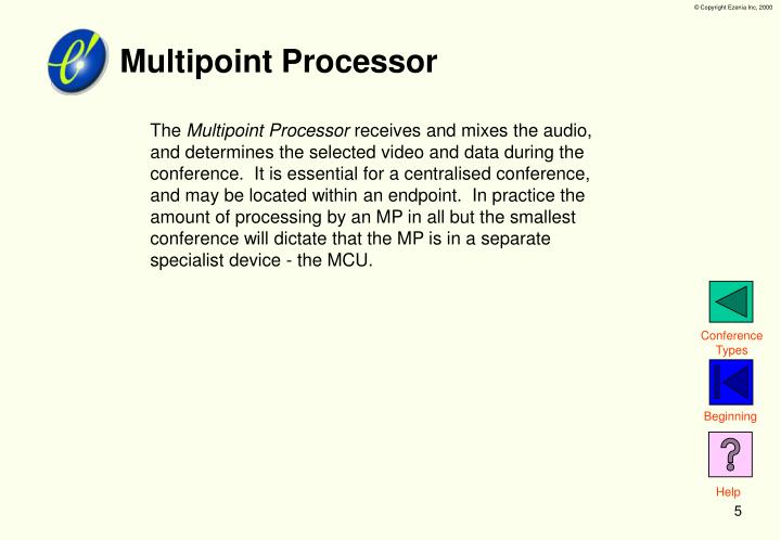 Multipoint Processor