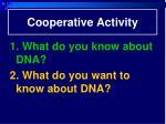 cooperative activity