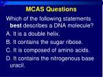 mcas questions7