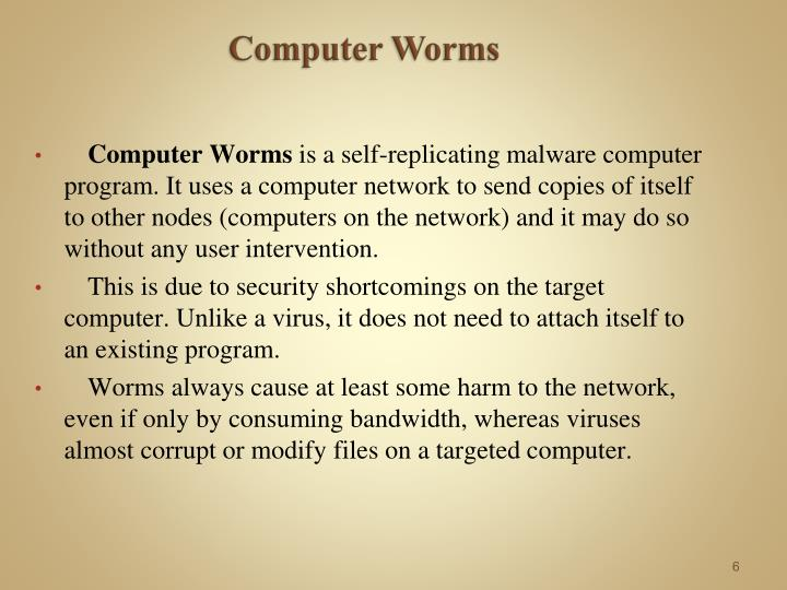 Computer Worms
