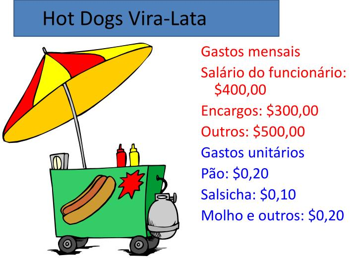 Hot Dogs Vira-Lata