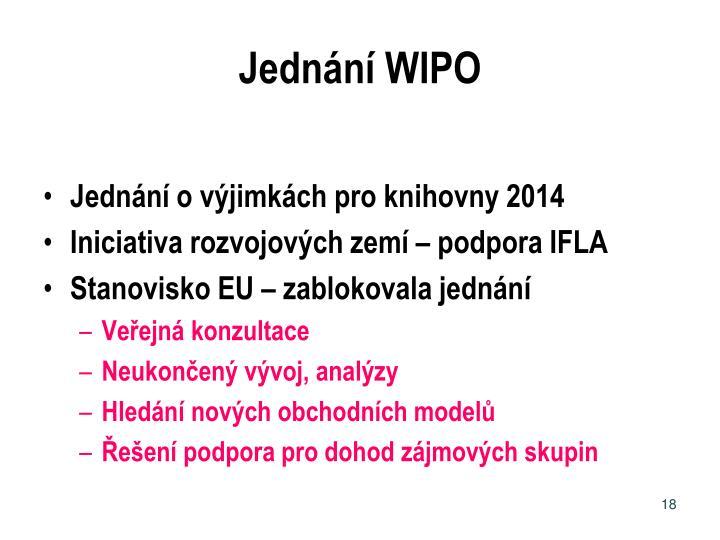 Jednání WIPO