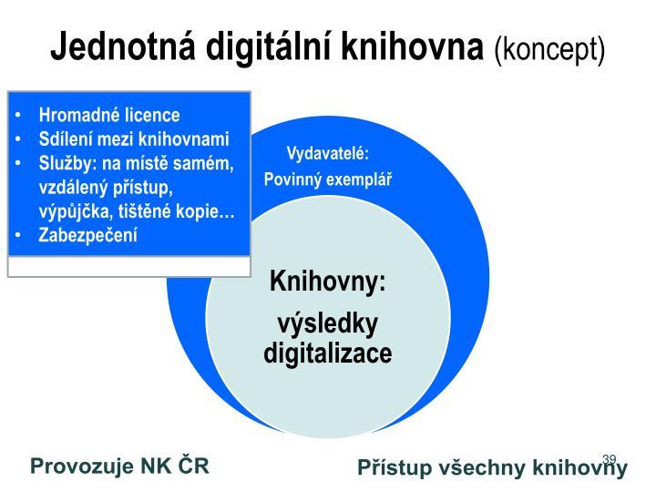 Jednotná digitální knihovna