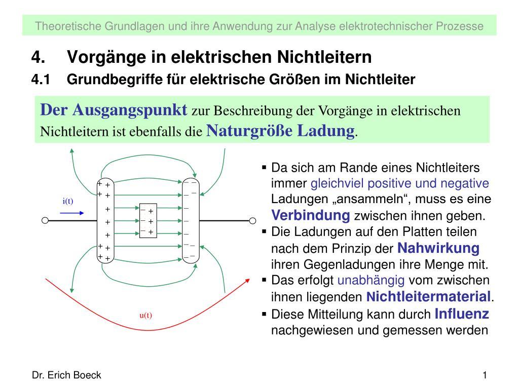 elektrische nichtleiter