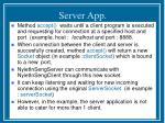 server app1