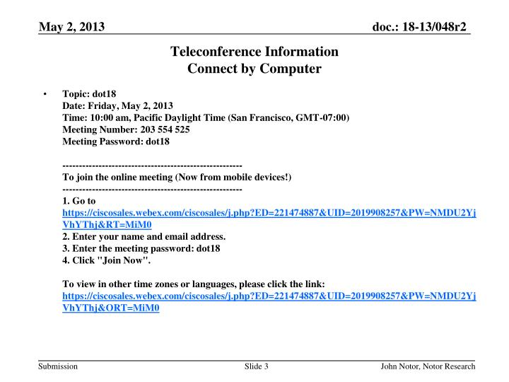 Teleconference information connect by computer