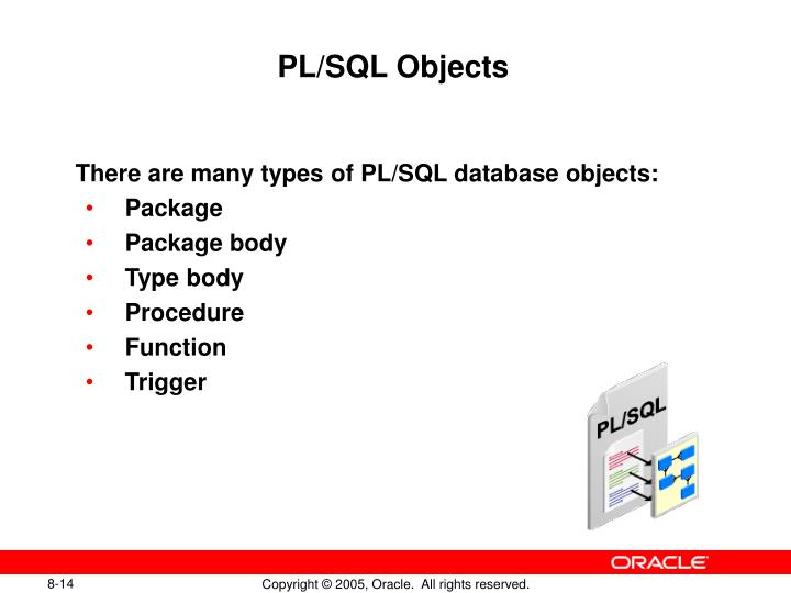 PL/SQL Objects