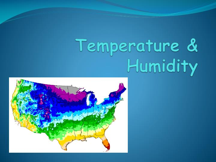 Temperature & Humidity
