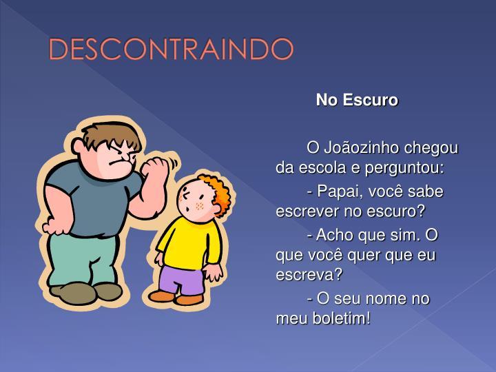 DESCONTRAINDO