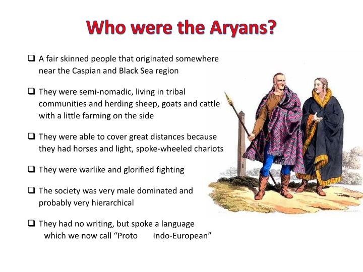 Who were the aryans