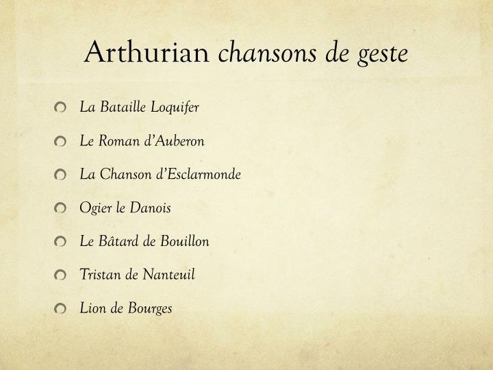 Arthurian