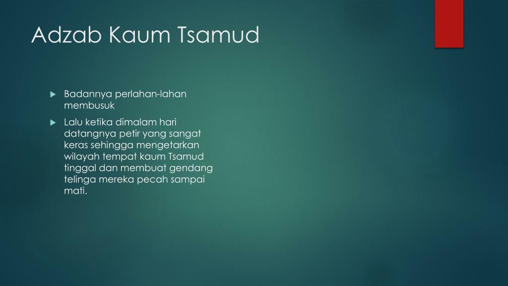 Kaum Tsamud PowerPoint Presentation