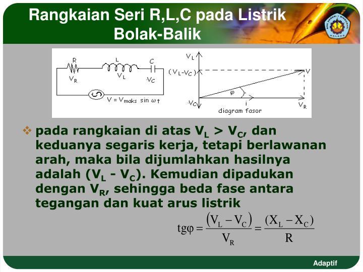 Ppt hubungan tegangan impedansi dan arus listrik bolak balik rangkaian seri rlc pada listrik bolak balik ccuart Image collections