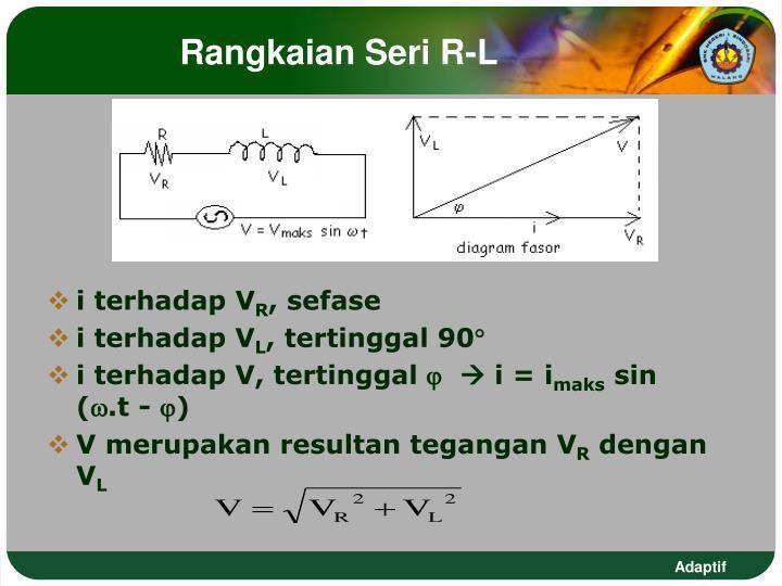 Ppt hubungan tegangan impedansi dan arus listrik bolak balik rangkaian seri r l ccuart Images