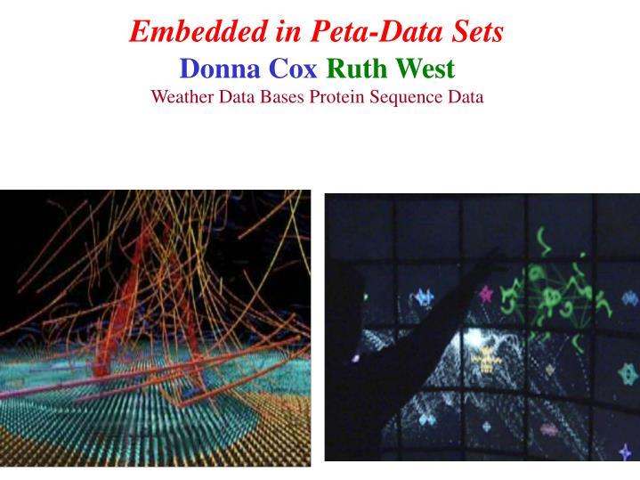 Embedded in Peta-Data Sets
