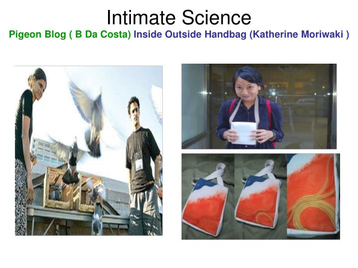 Intimate Science