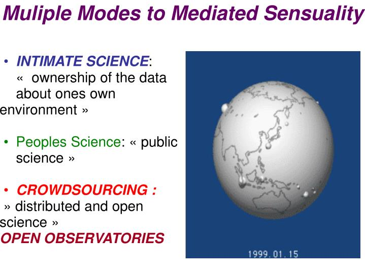 Muliple Modes to Mediated Sensuality