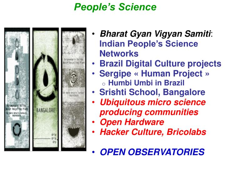 People's Science