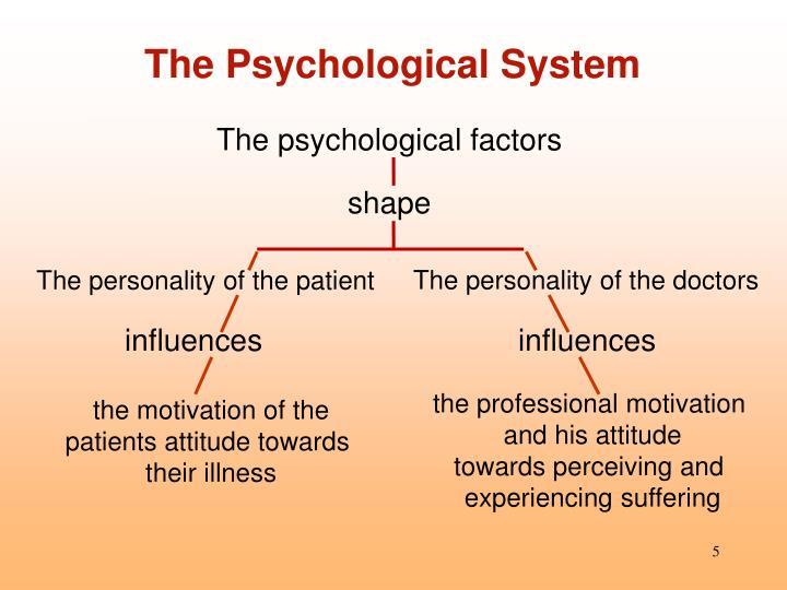 The Psychological System
