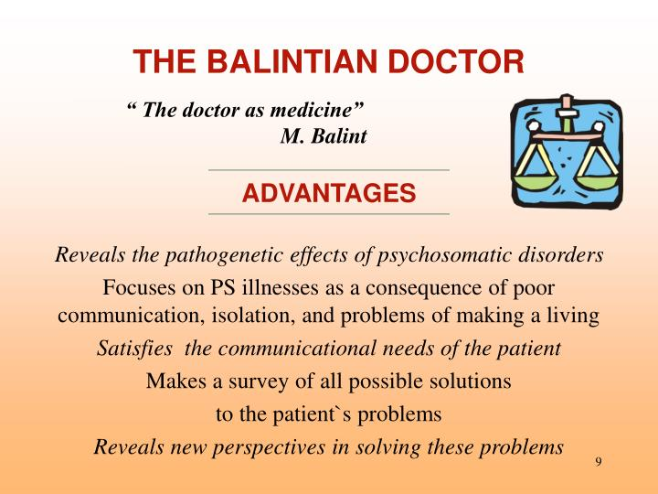 THE BALINTIAN DOCTOR