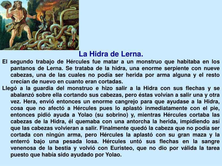 La Hidra de Lerna.