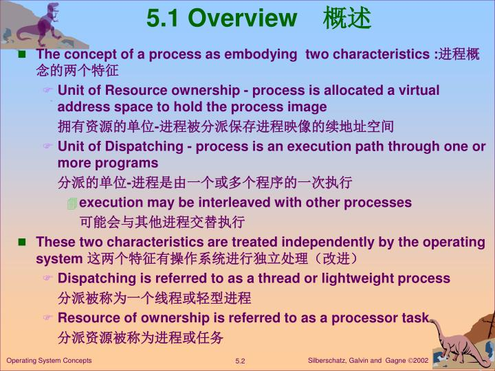 5 1 overview
