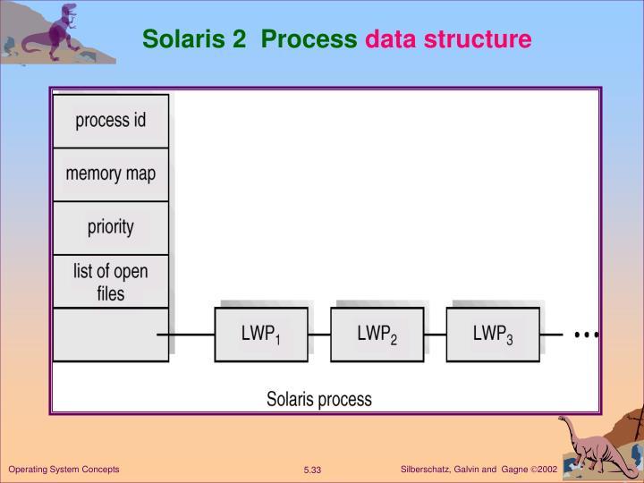 Solaris 2  Process