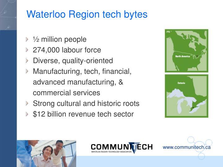 Waterloo Region tech bytes