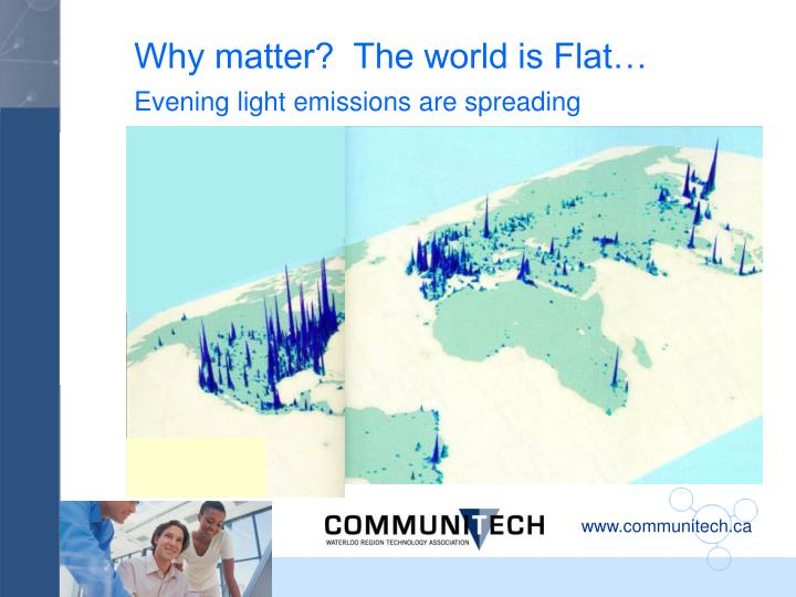 Why matter?  The world is Flat…