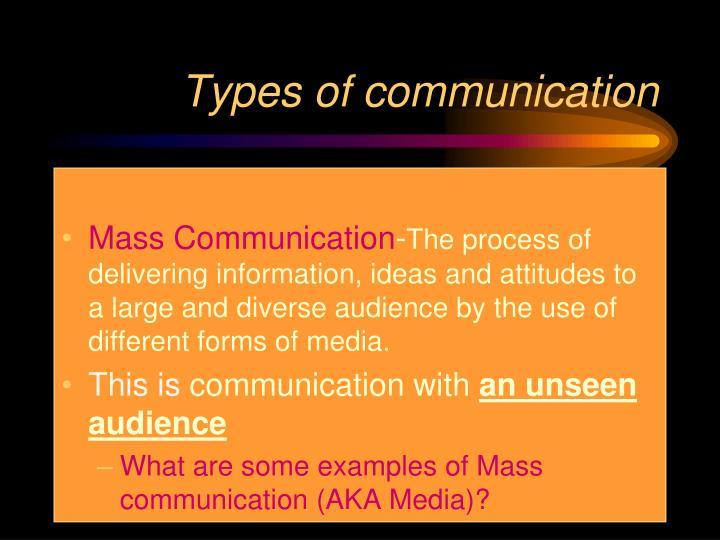 mass media audience