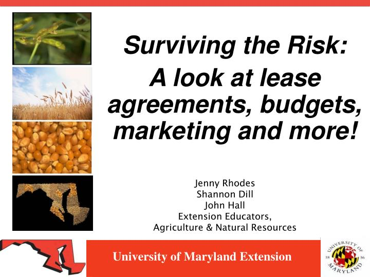 university of maryland extension n.