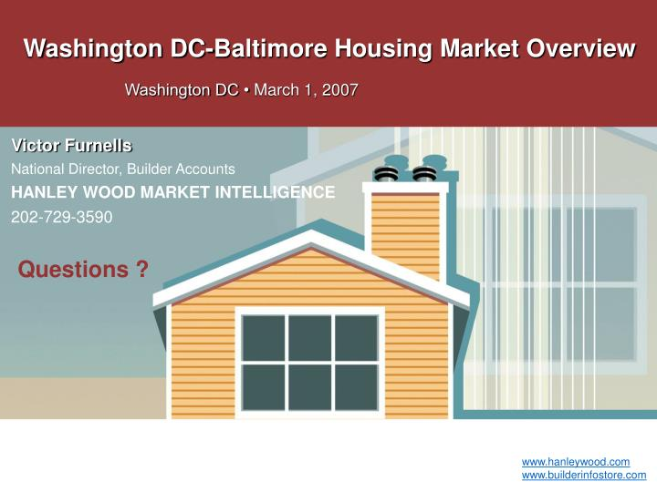 Washington DC-Baltimore Housing Market Overview