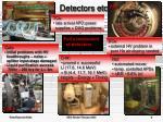 detectors etc