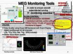 meg monitoring tools