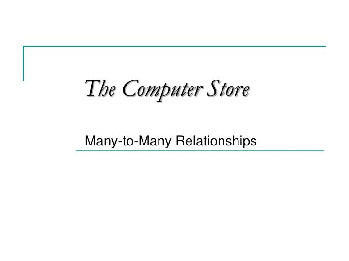the computer store n.