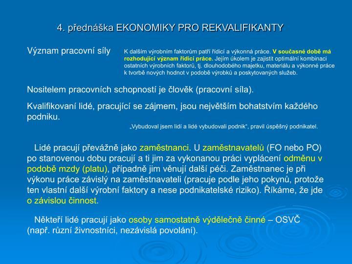 4 p edn ka ekonomiky pro rekvalifikanty1