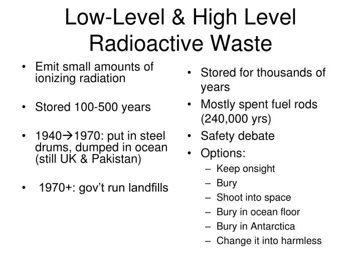 Low-Level & High Level