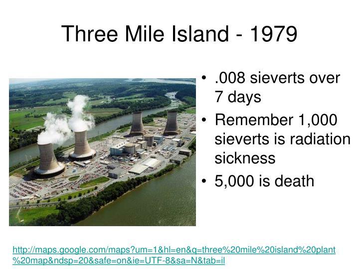 Three Mile Island - 1979