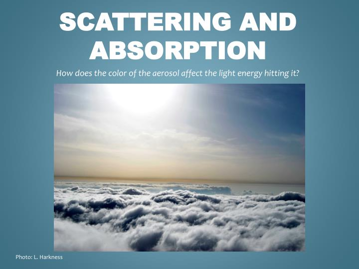 scattering and absorption n.