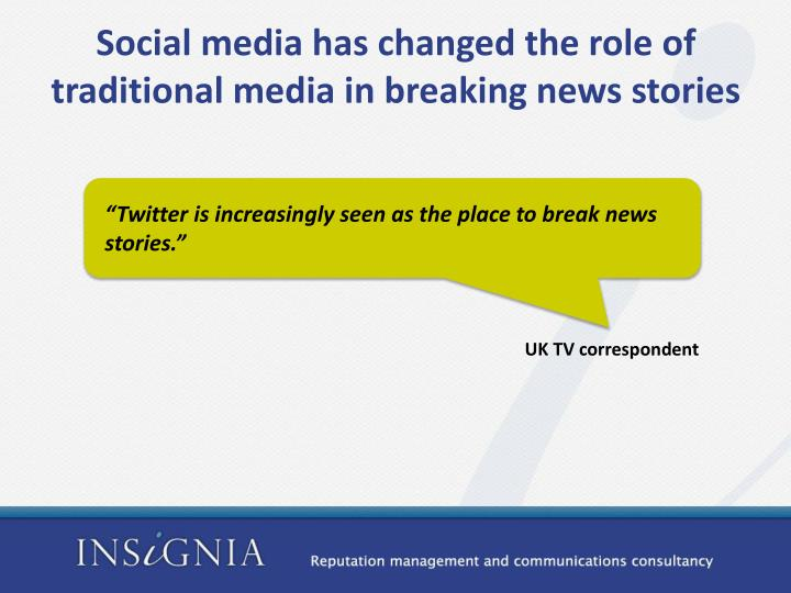 social responsibilities of news media Responsibilities and tasks of a social media professional tasks and responsibilities in the social subscribe to social media today to get the must-read news.