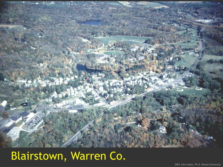 Blairstown, Warren Co.